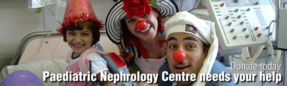 Paediatric Nephrology Centre needs your help