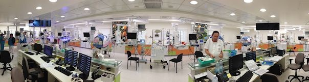 The new Department of Neonatology.     Photo credit: Pioter Fliter